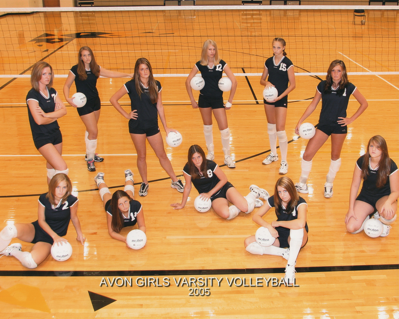 2005 Varsity Volleyball Team