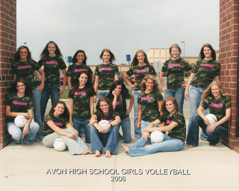 2006 Varsity Volleyball Team