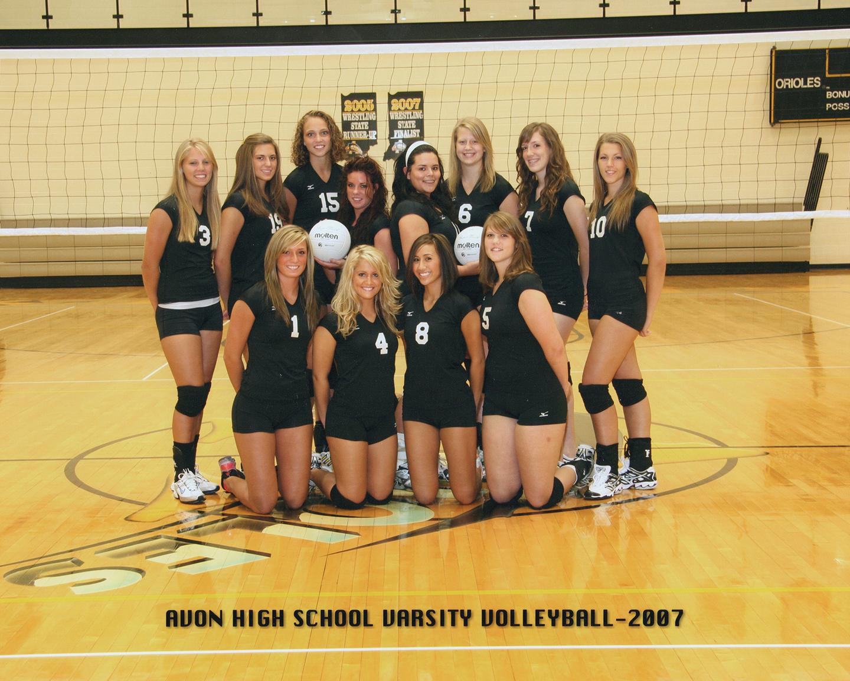 2007 Varsity Volleyball Team